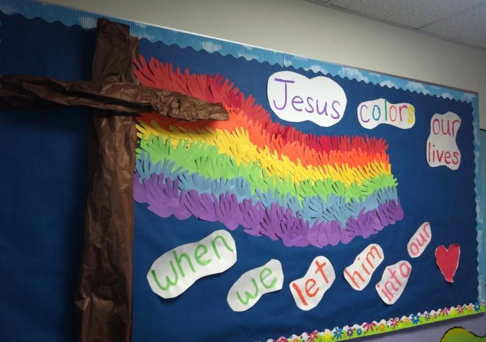 Jesus Colors Our Lives